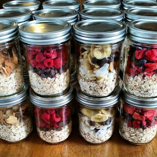 Easy Breakfast Meal Prep: Instant Oatmeal