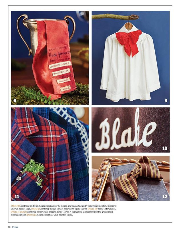 Blazers and Bow Ties . . . Client work for Blake School @krisdrakephoto  @klstouffer  @notorioustag  #vinatgeblazers #choirrobe #bowtie #minnesota #mnhistory #mpls #onlocaion #schooldays #plaid
