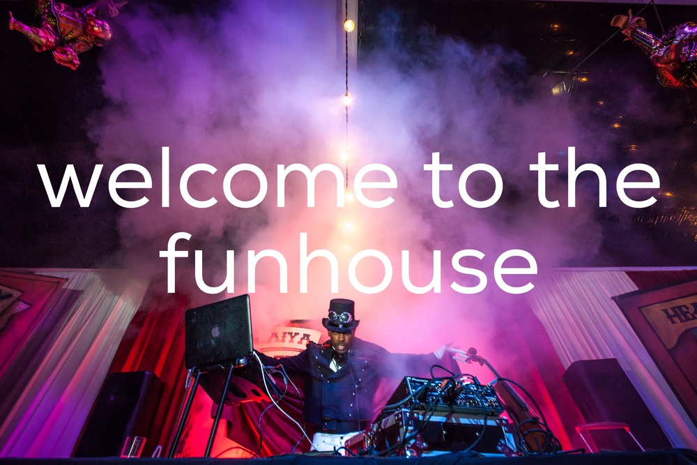 welcome to the funhouse cover photo