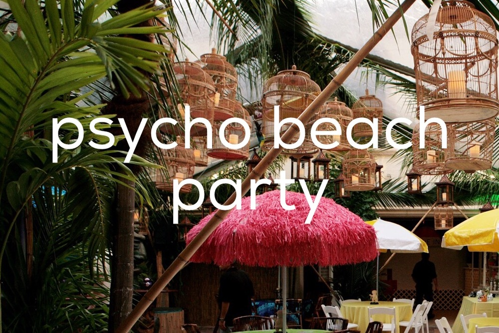 psycho beach party cover photo