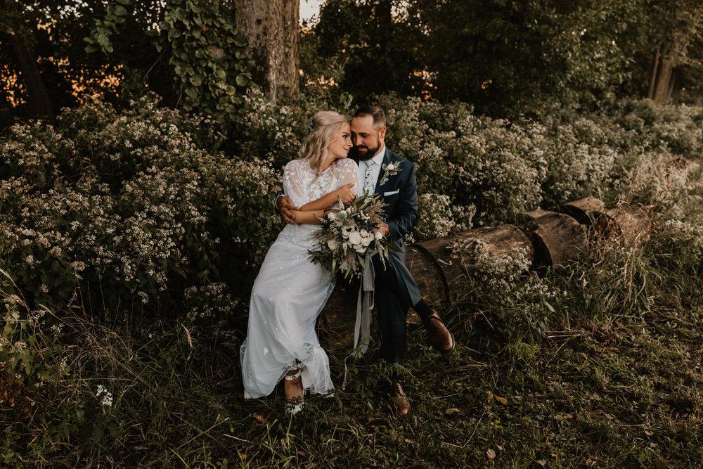 Rustic wedding in Midtown Omaha