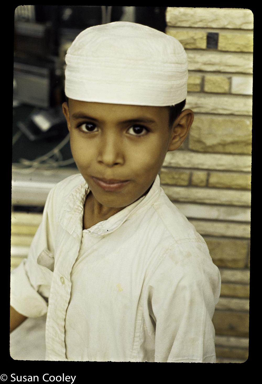 Saudi cool kid.