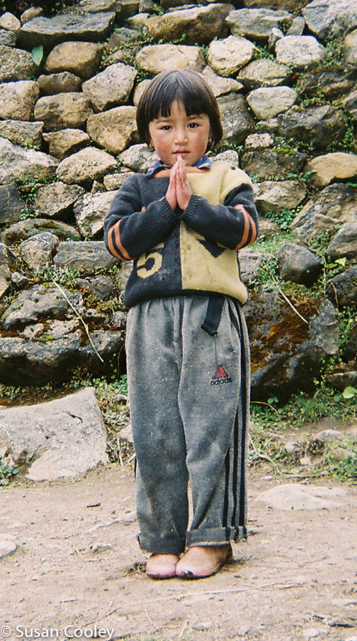 Namaste, Nepal.