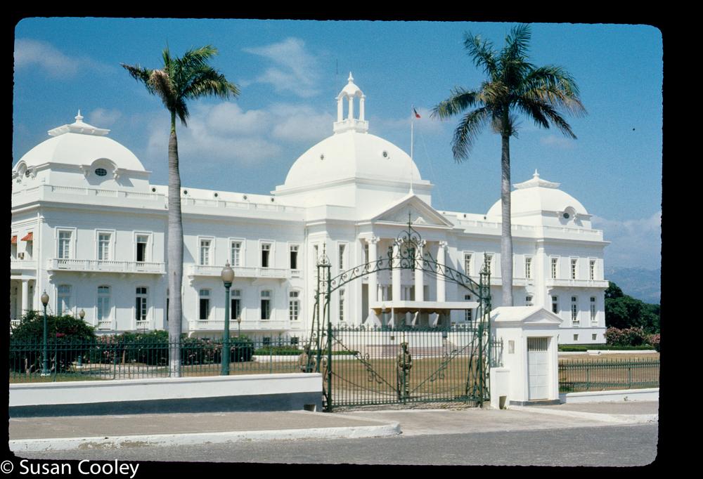 Port au Prince Presidential Palace, 1974