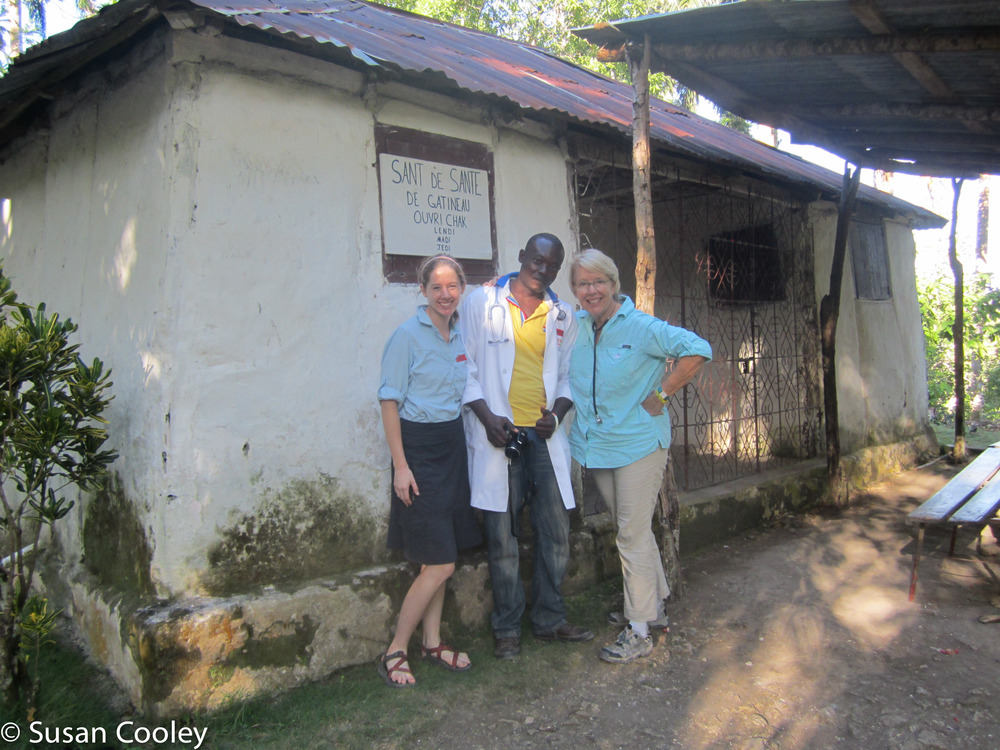 Susan and nurse/daughter, Mary - Jacmel, Haiti 2013
