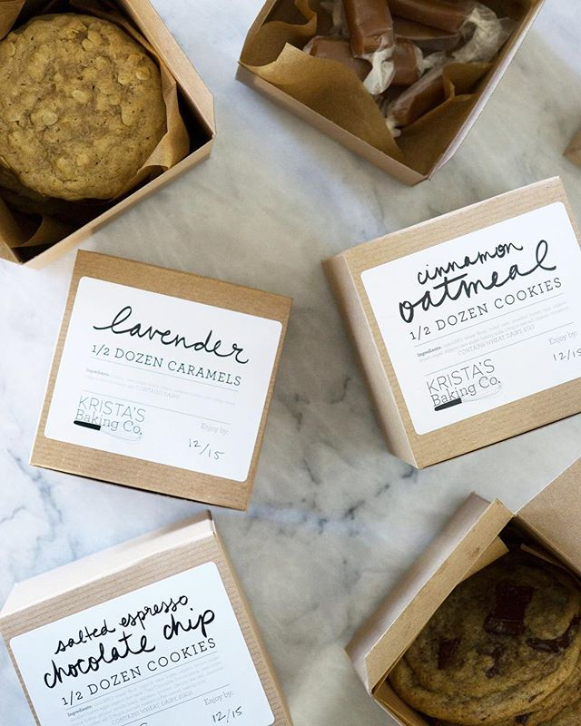 One day only!! I'm baking for you! This Saturday, I'll be at the @stockedgeneral Holiday Market in Seattle with a *limited amount* of 1/2 dozen cookies and caramels. Come visit me! 🤗 Link to event in my bio! ⠀ .⠀ .⠀ #kristasbakingco #cookies #baking #holidays #holidaymarket #seattle