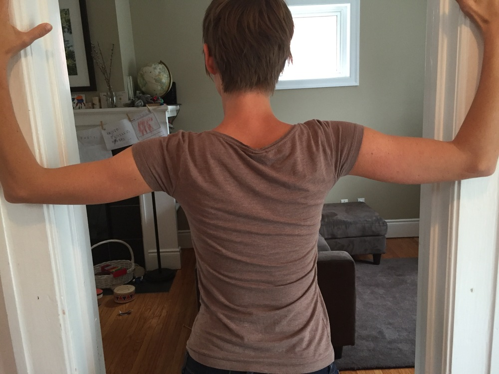 Doorway Pec Stretch (back)