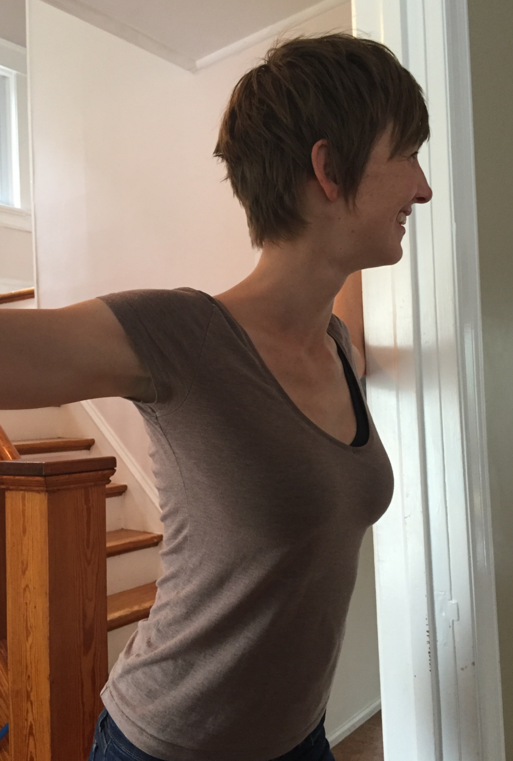Doorway Pec Stretch (front)
