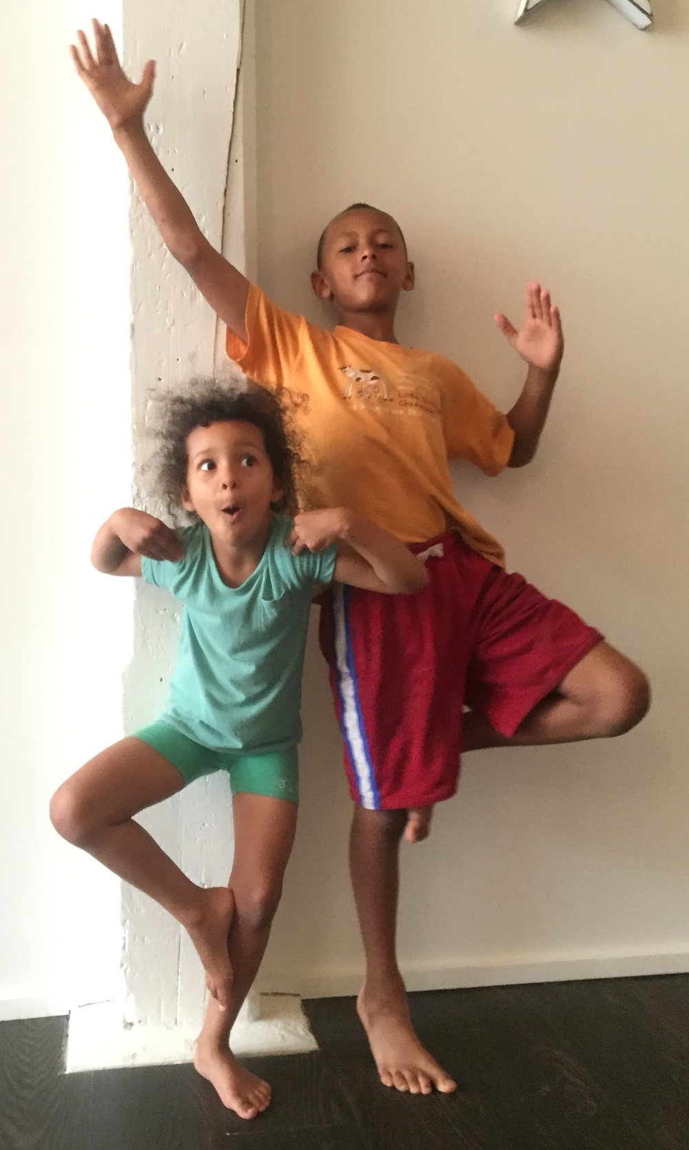 Kids Yoga - tree pose
