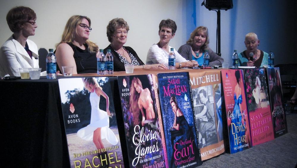 Avon authors at Margaret Mitchell's house