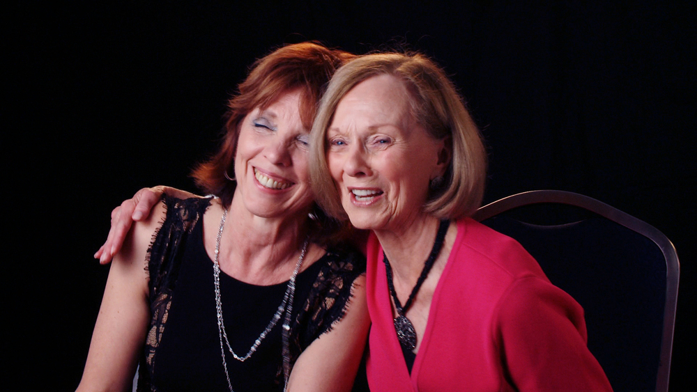 Nora Roberts and Ruth Langan, bestselling authors, best friends