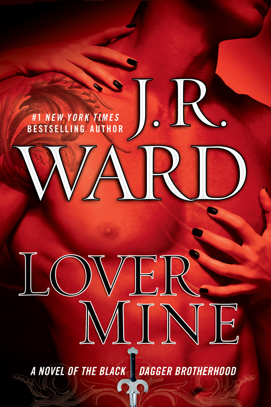 "One book in Ward's ""Black Dagger Brotherhood"" series"