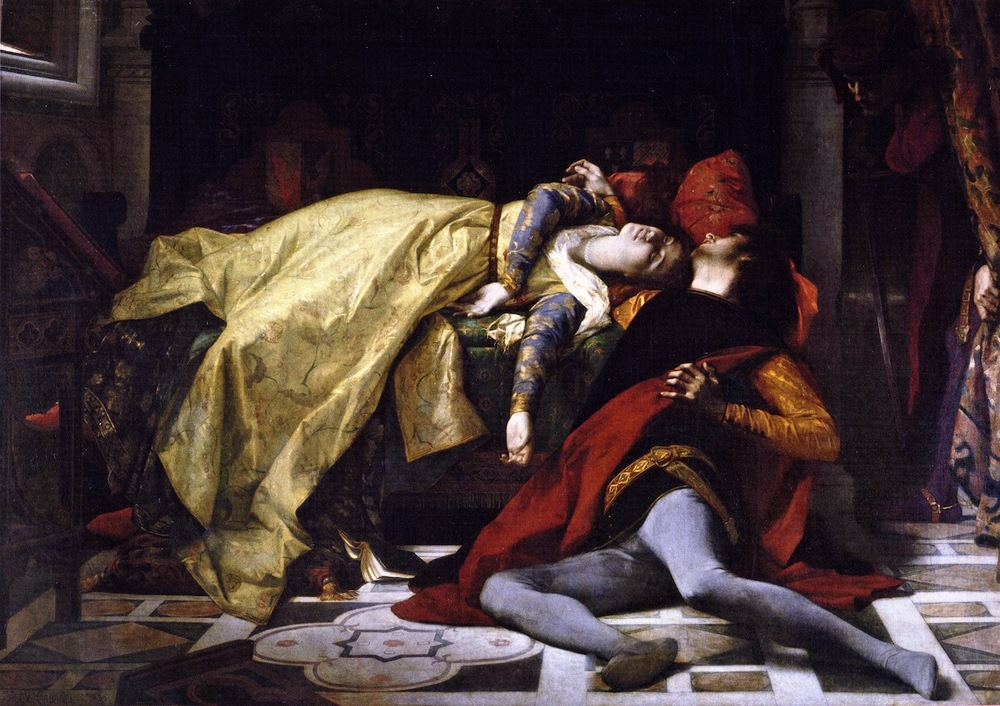 Paolo et Francesca by Alexandre Cabanel