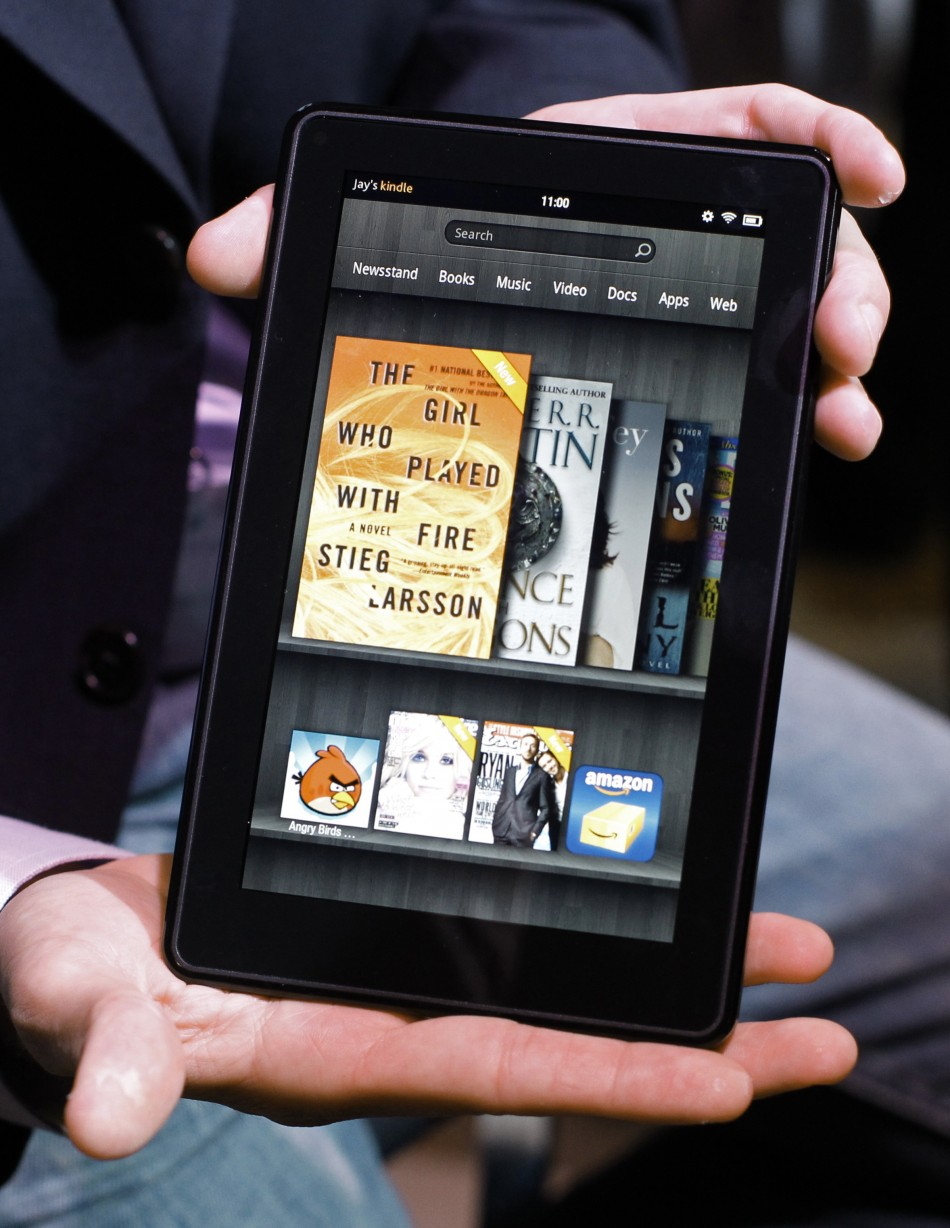 The Kindle Fire e-reader