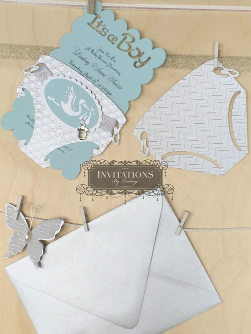 Diaper Invitation. Free Baby Diaper Invitation Template | Damask