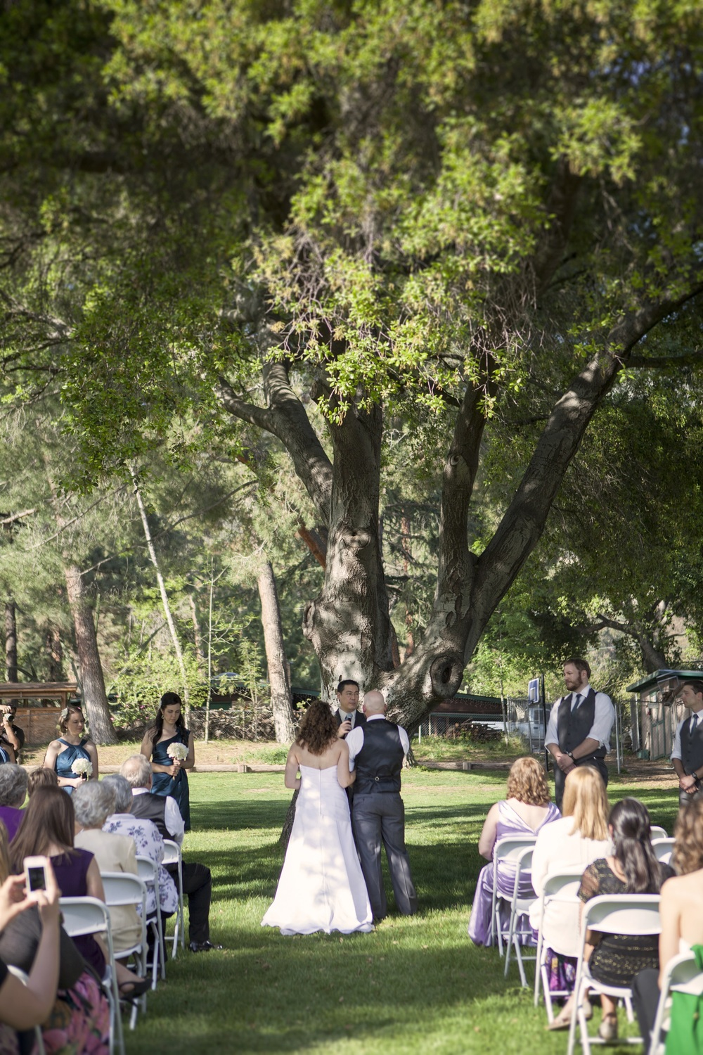 Angelus Mountain Center Wedding © Silver Feather Photography