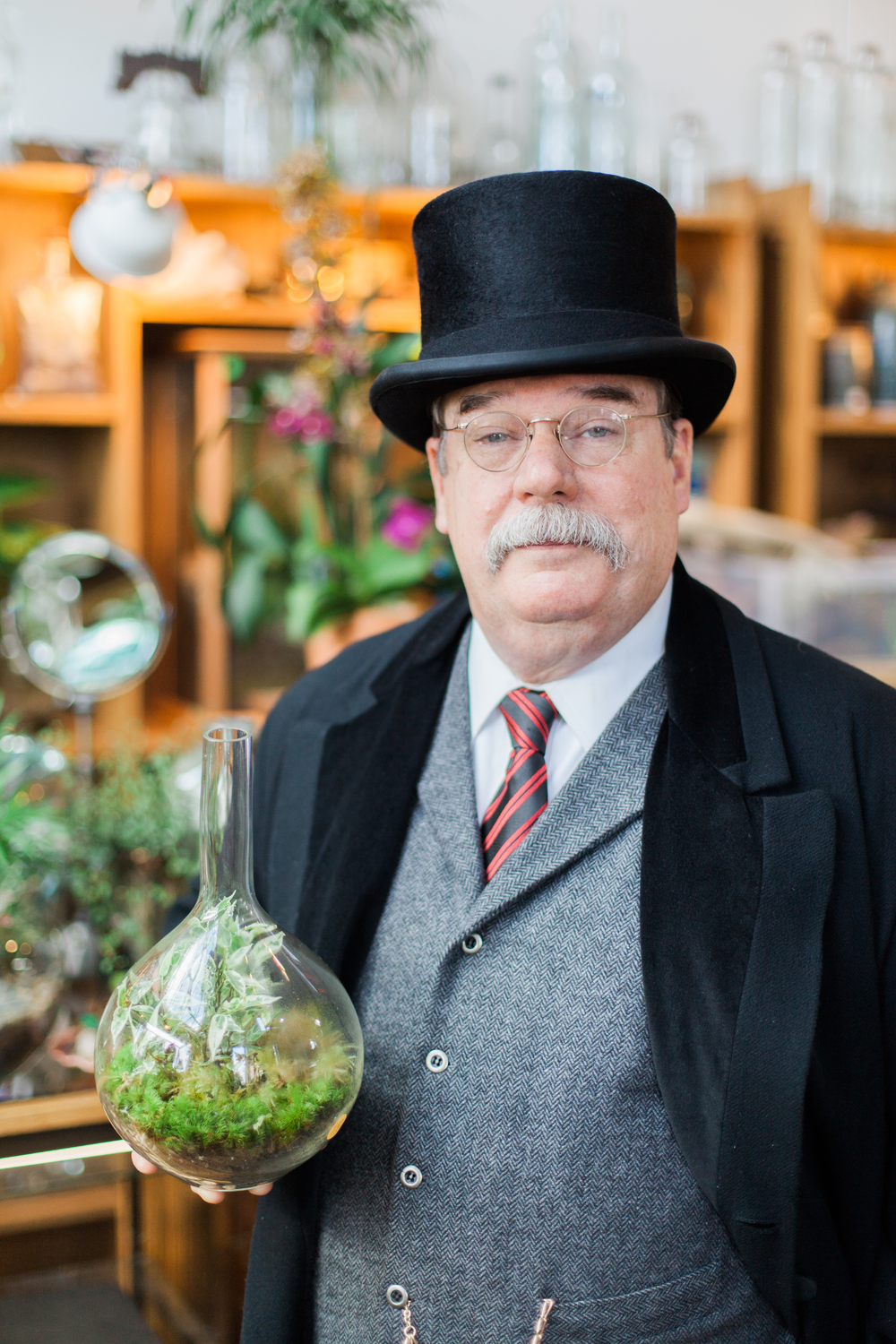 """Speak softly and carry a big terrarium."""