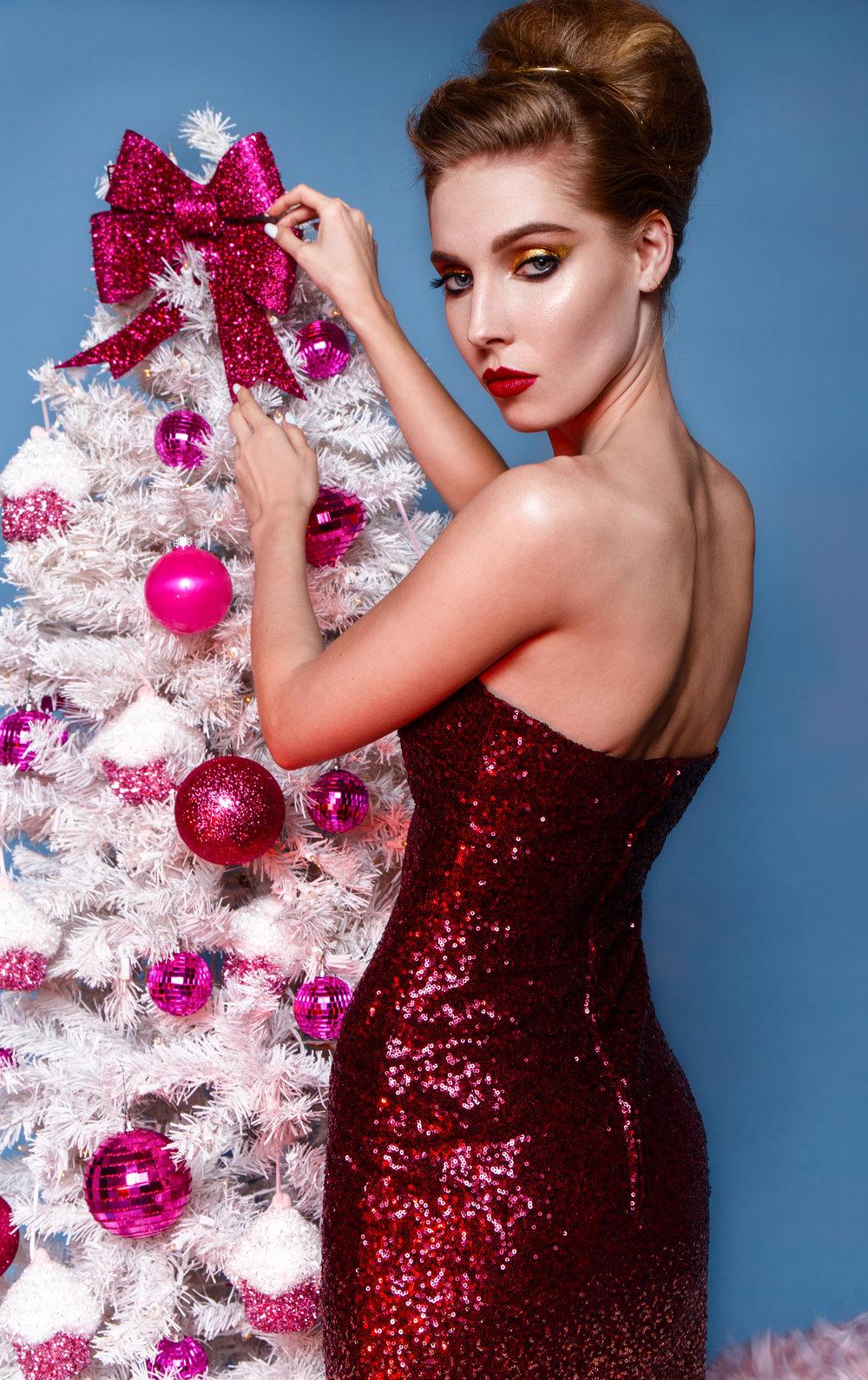 "From ""Happy Holidays"" shoot"