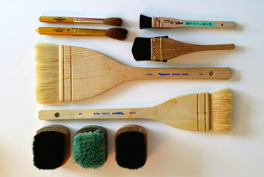 Brushes - need about half a dozen or so...