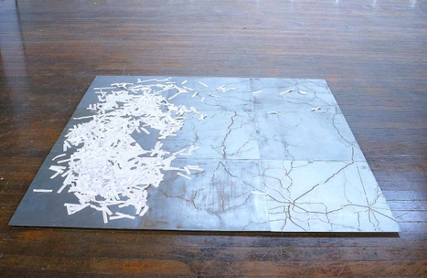From Here To There , etched zinc plates & paper, 1999
