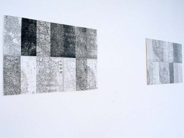 My Maps , etching, 1999