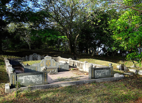 Bukit Cina in Malacca is said to be the largest Chinese graveyard outside China with over 12,000 graves, some of which date to the Ming Dynasty.