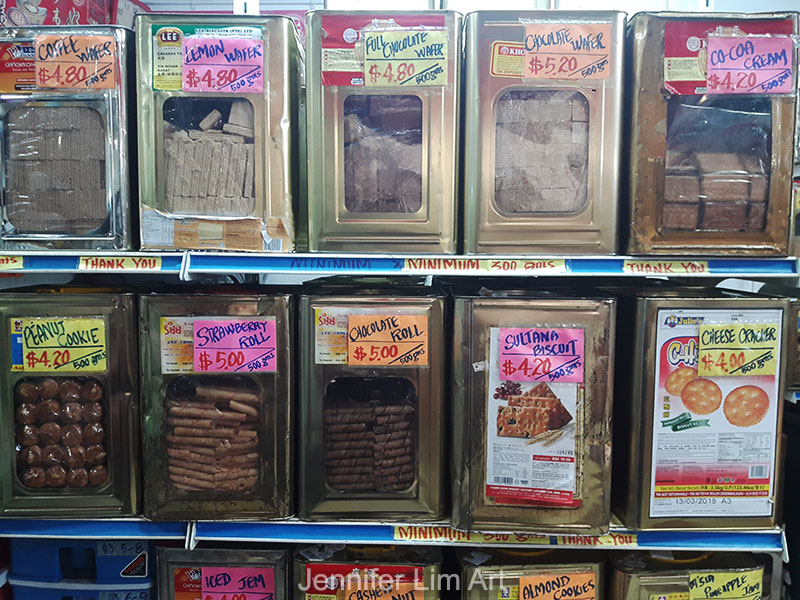 The old way of selling biscuits still lives on in Toa Payoh.