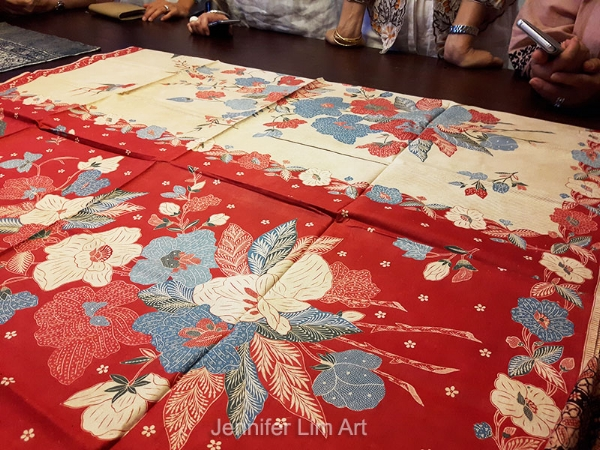Batik by Eliza van Zuylen.