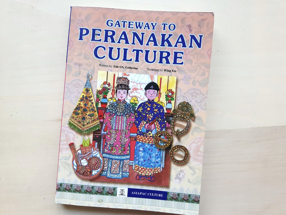 Gateway to Peranakan Culture  by Catherine Lim.