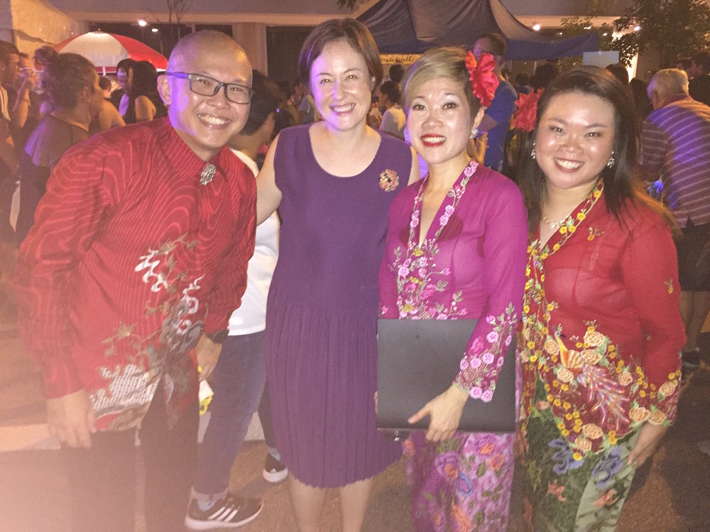 The talented members of Peranakan Sayang including Alvin Oon.