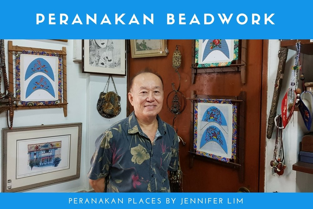 Beadwork instructor Robert Sng of The Little Shophouse