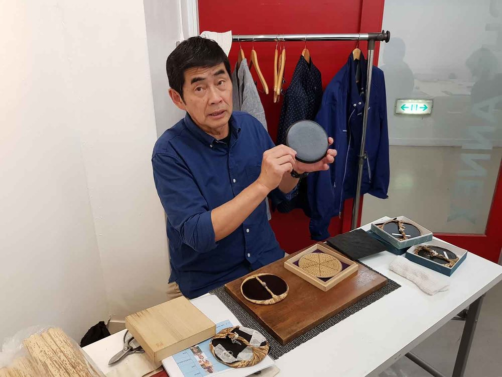 Baren maestro and artist Hidehiko Goto