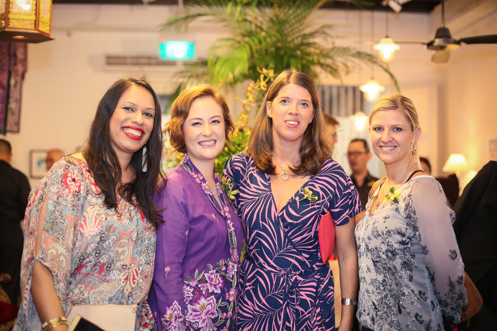 Some of the support crew from    Business Women Network