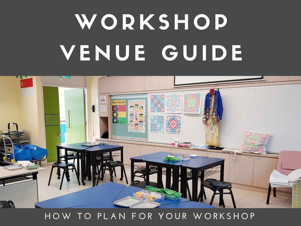 How to choose your venue for an art workshop