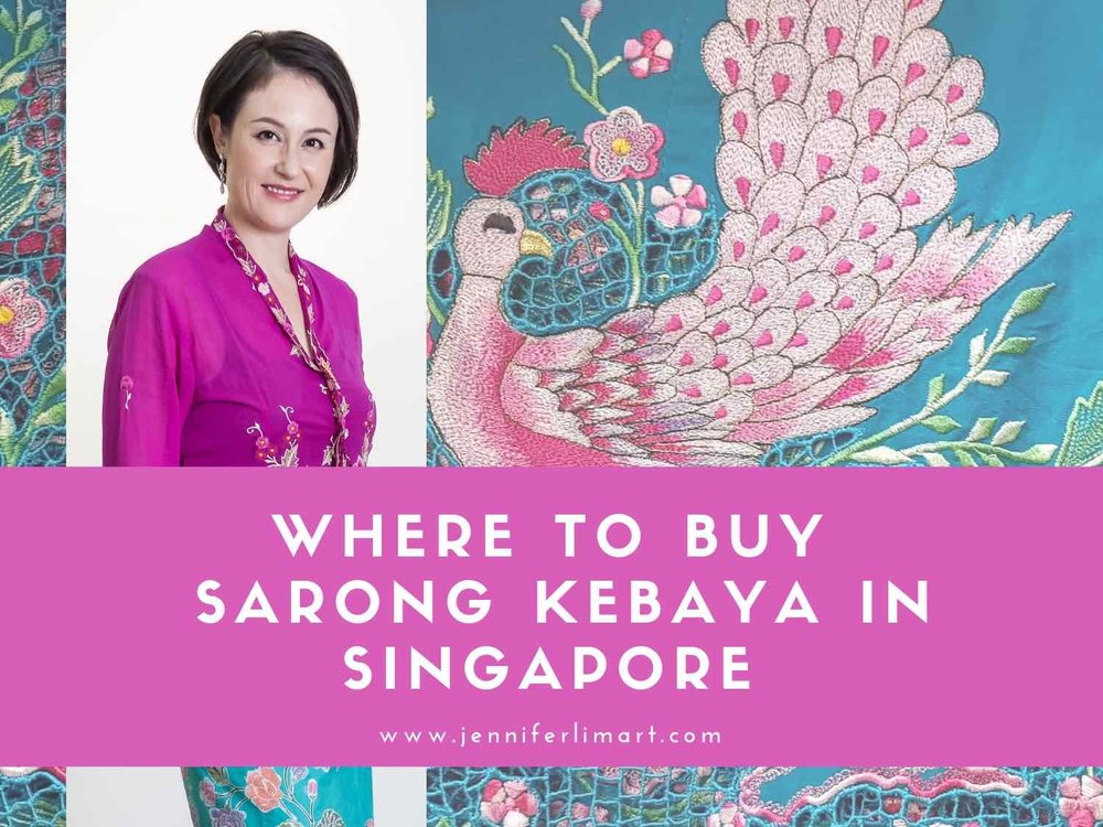 Discover where to buy Nyonya sarong kebaya in Singapore worn by Peranakan women.