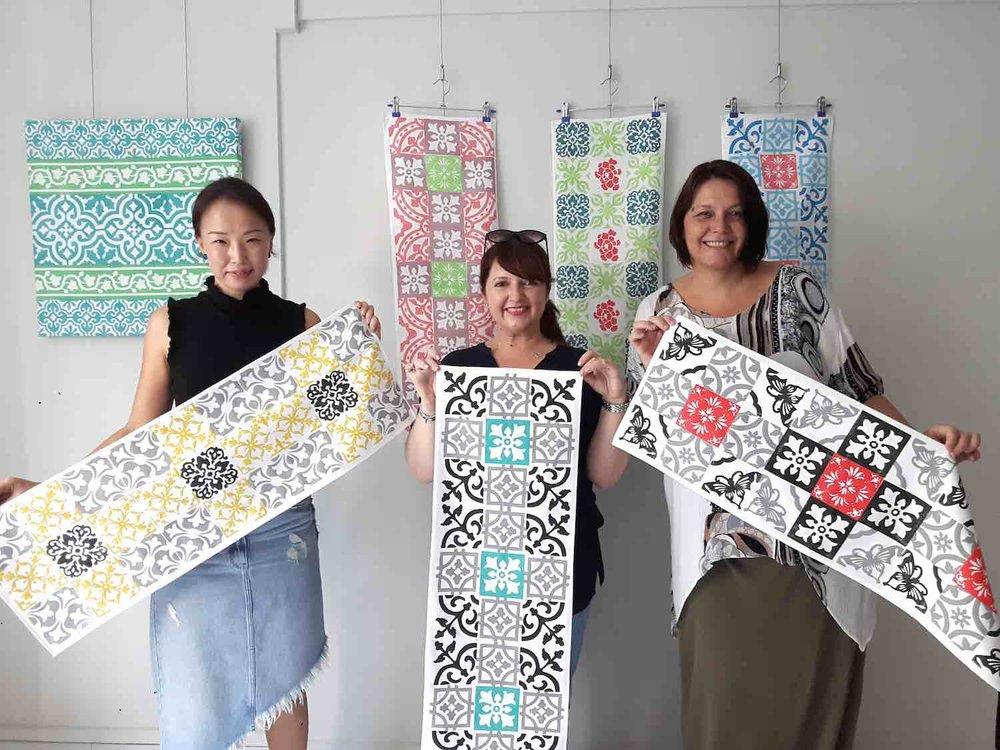 Peranakan Printing Workshop: Table Runner/ Wall Hanging