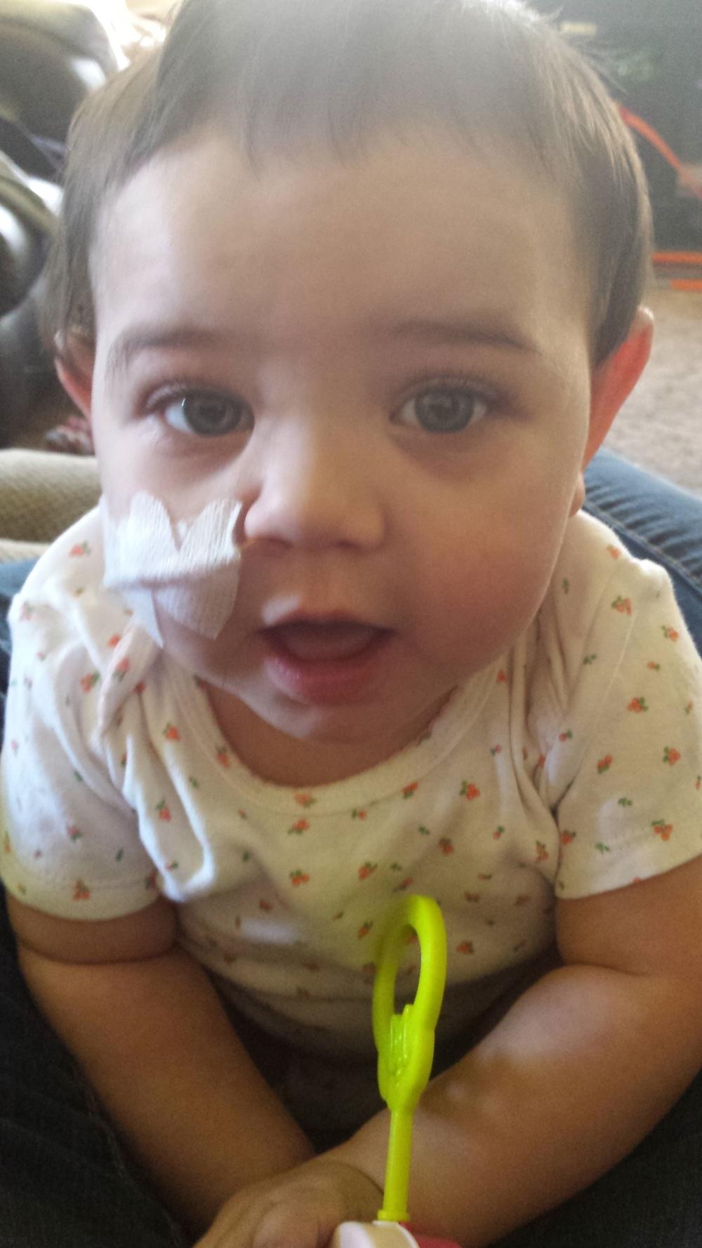 Melina, 15 months