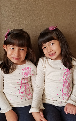 Celeste & Alexia, 6, Neonatology Research