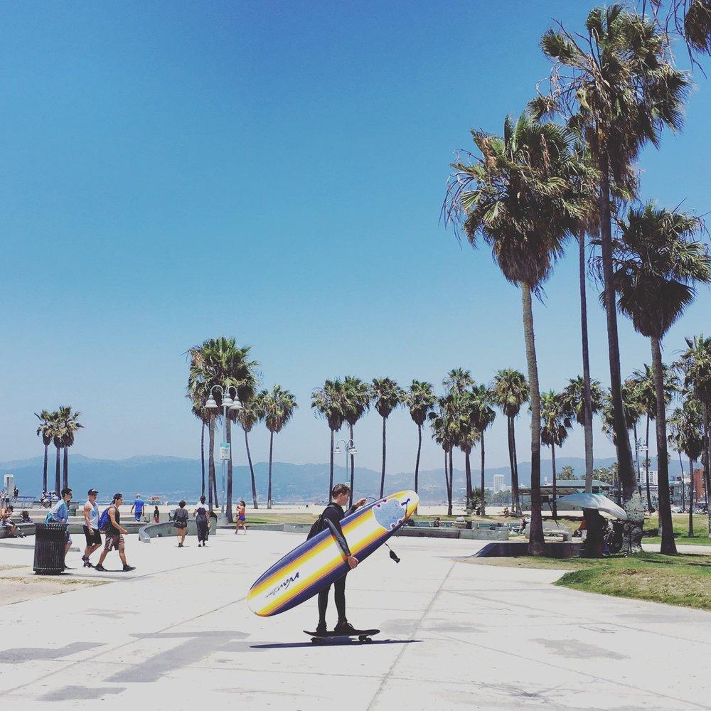 ベニスビーチ