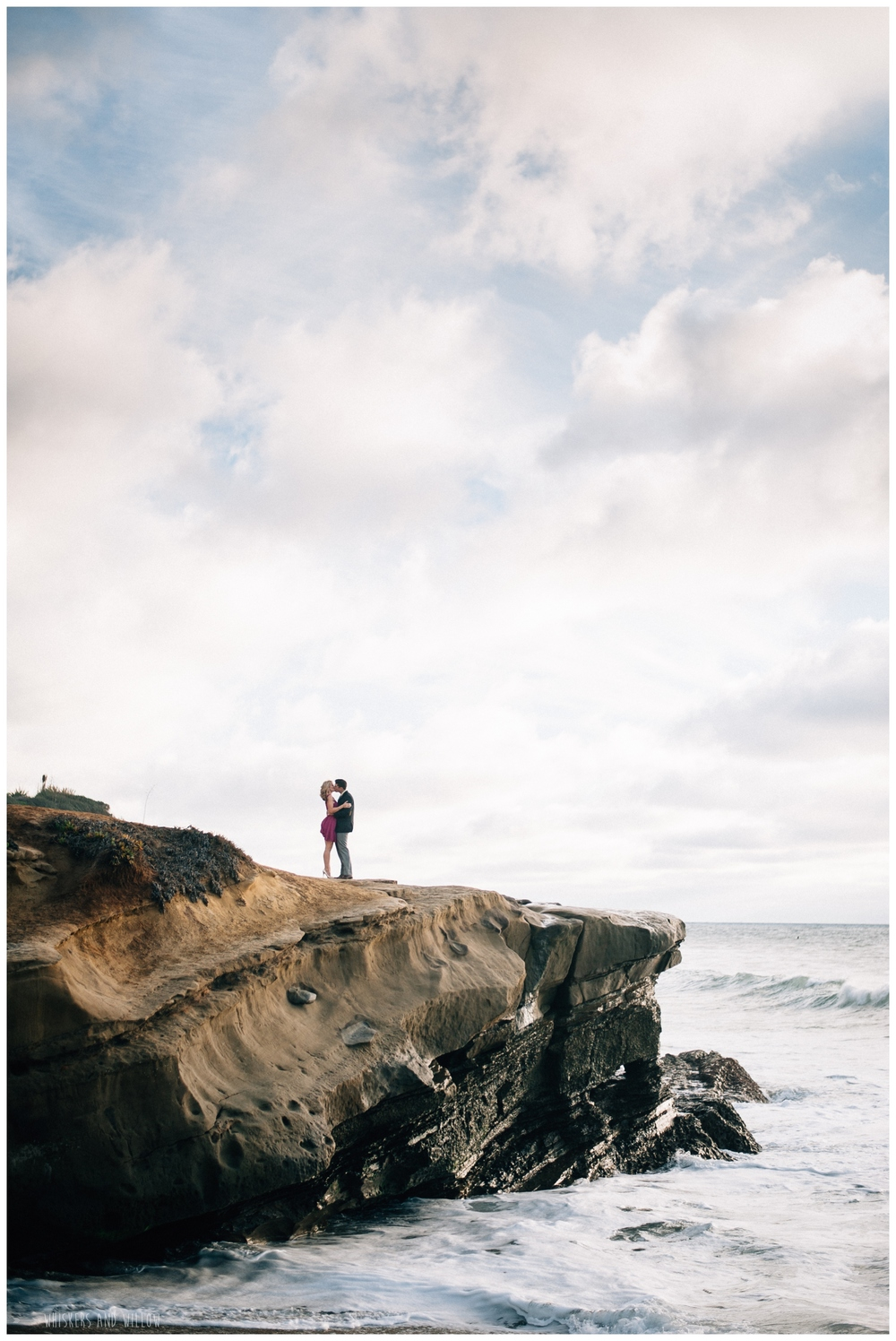Sunset Cliffs Engagement 234 Whiskers and Willow Photography