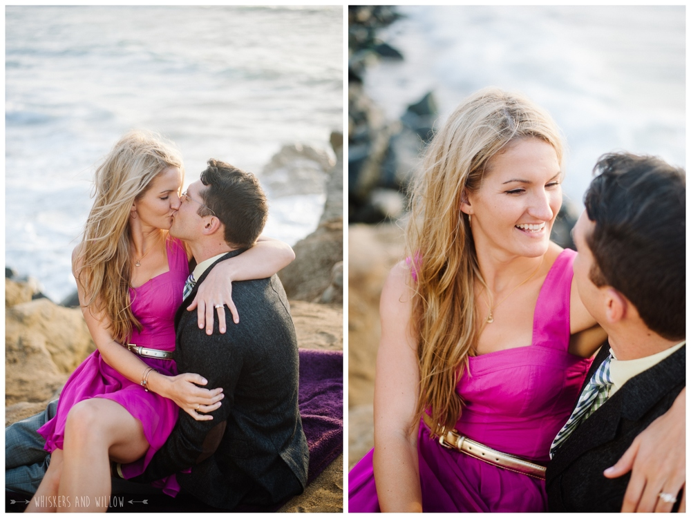 Sunset Cliffs Engagement 302 Whiskers and Willow Photography
