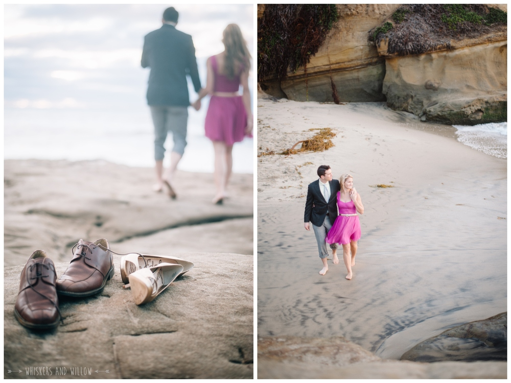Sunset Cliffs Engagement 366 Whiskers and Willow Photography