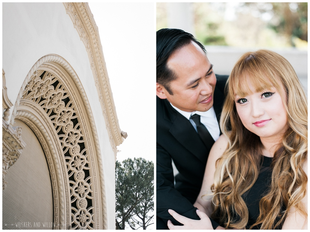 Balboa Park Engagement 001 | Whiskers and Willow Photography