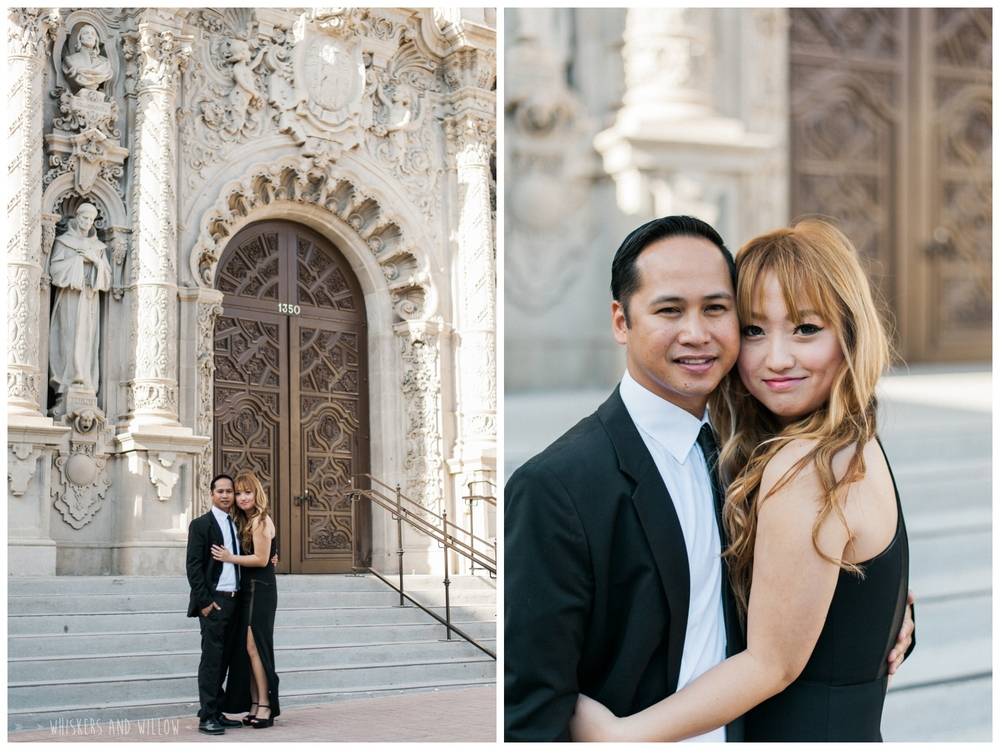 Balboa Park Engagement 122  | Whiskers and Willow Photography