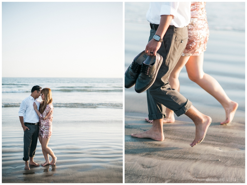 Coronado Beach Engagement 201  | Whiskers and Willow Photography