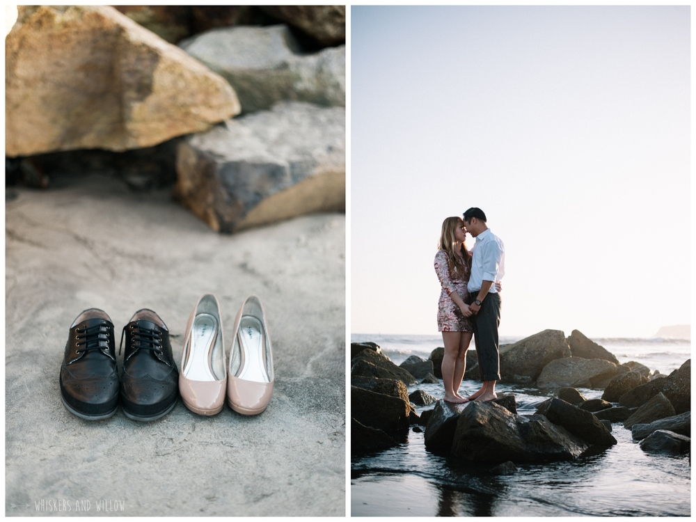 Coronado Beach Engagement 220  | Whiskers and Willow Photography