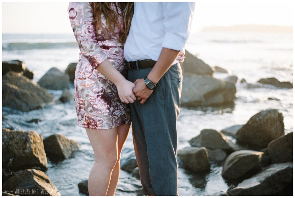 Coronado Beach Engagement 219  | Whiskers and Willow Photography