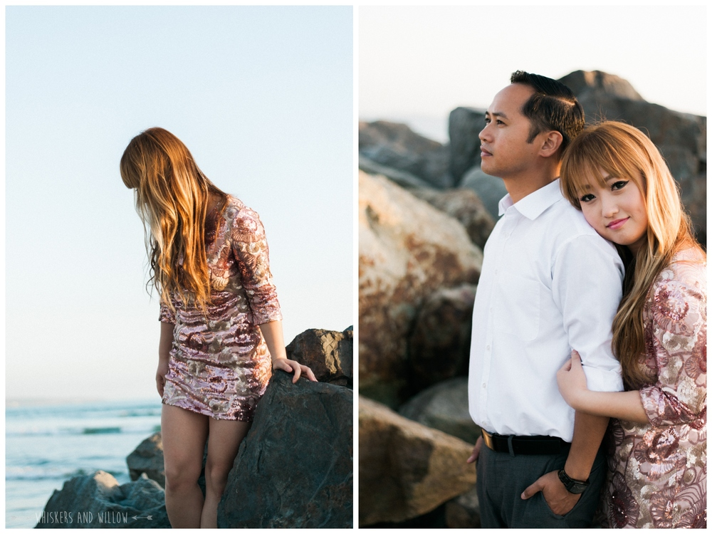 Coronado Beach Engagement 221  | Whiskers and Willow Photography