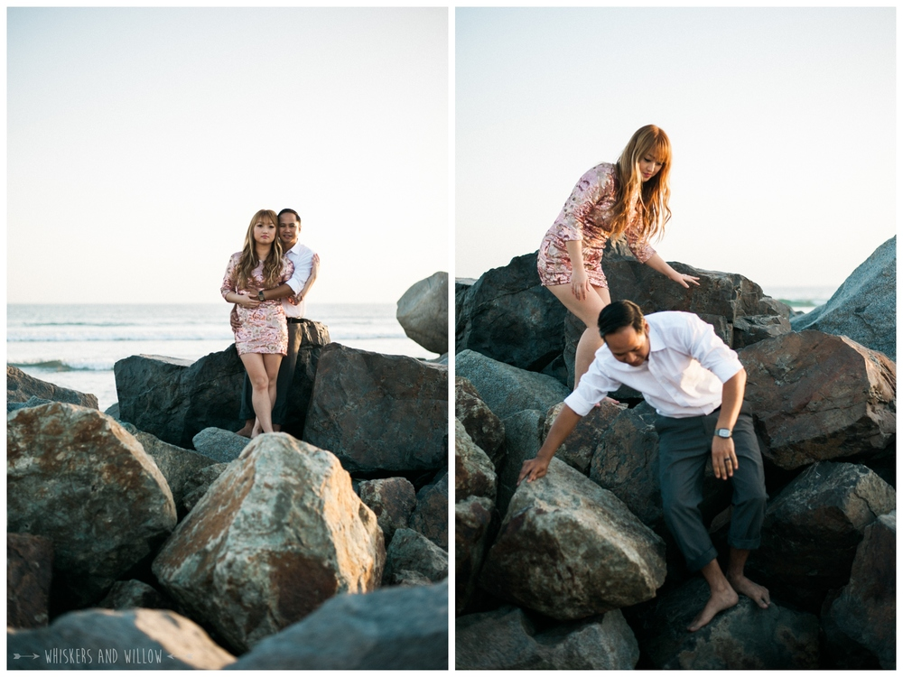 Coronado Beach Engagement 223  | Whiskers and Willow Photography