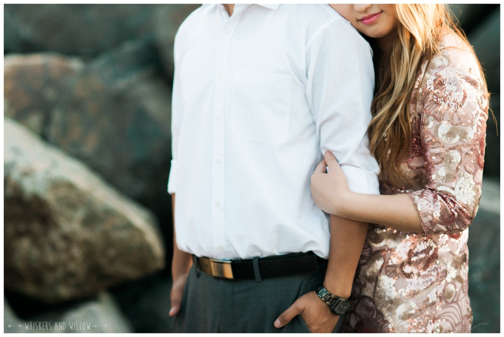 Coronado Beach Engagement 238  | Whiskers and Willow Photography